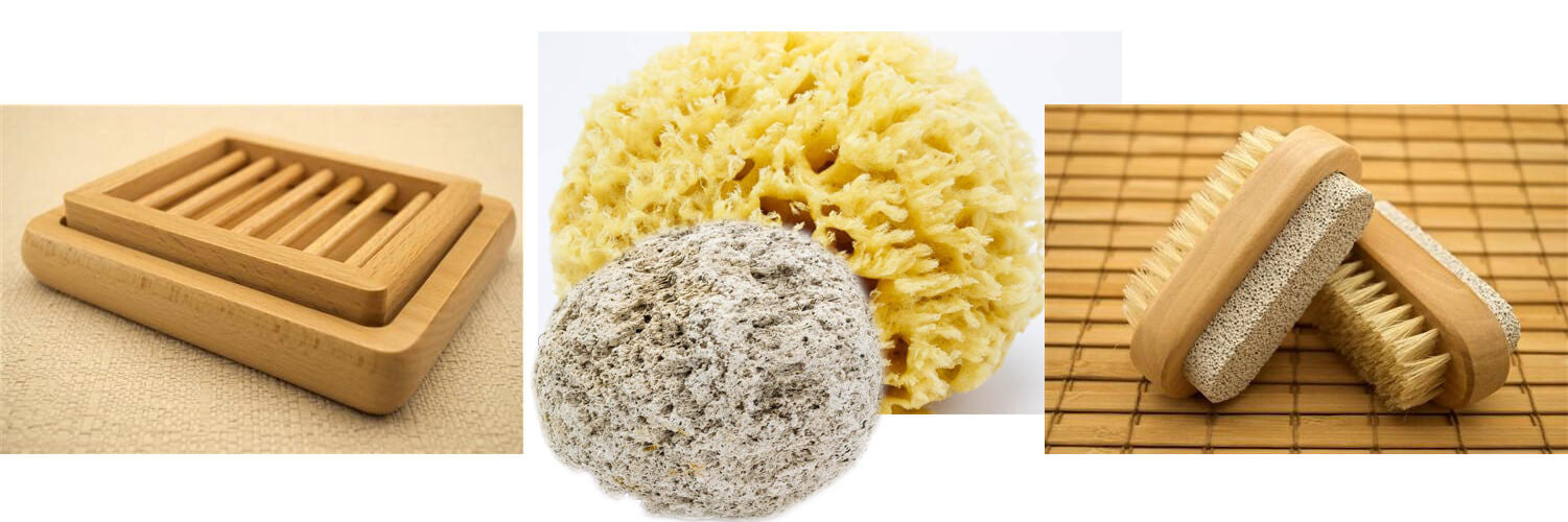 Sponges | Soap Dishes | Loofahs | Pumice