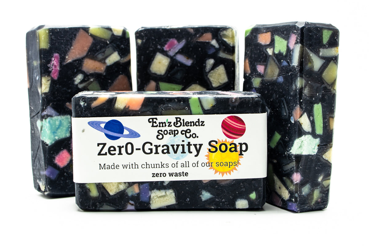 Zero Gravity Charcoal Soap Bar - Emz Blendz