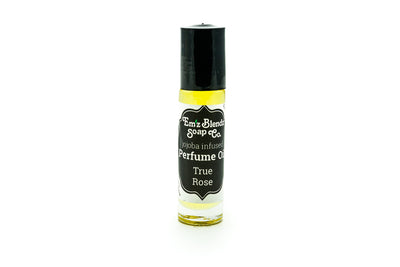 Jojoba Perfume Oil | True Rose - Emz Blendz