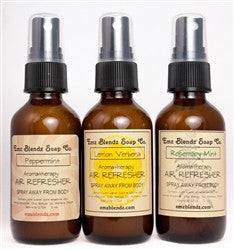 Handmade Natural B&B Inn Guest Amenity Air Refreshers 10 Pack of 2 oz Bottles - Emz Blendz