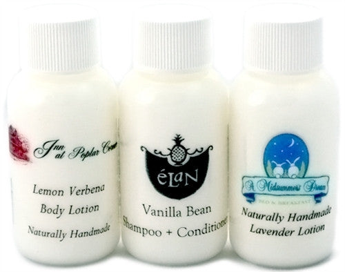 Handmade Natural B&B Inn Guest Amenity Creamy Conditioner, Case of 50 - Emz Blendz