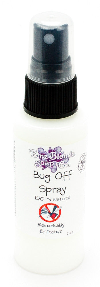Emz Blendz All Natural Bug OFF Spray Insect Repellent and protection - Emz Blendz