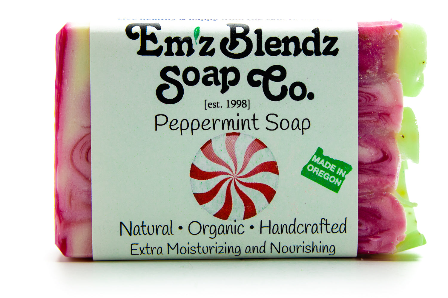 Peppermint Soap Bar - Emz Blendz
