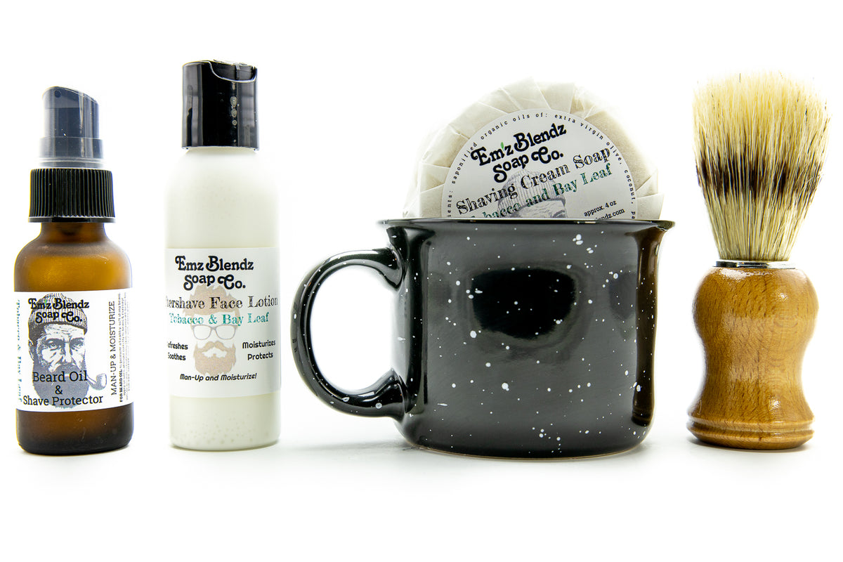 Complete Natural Shaving Set
