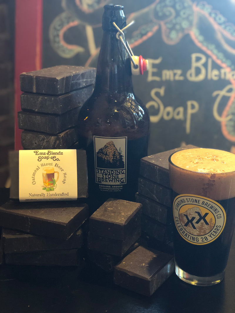 Oatmeal Stout Beer Soap Bar
