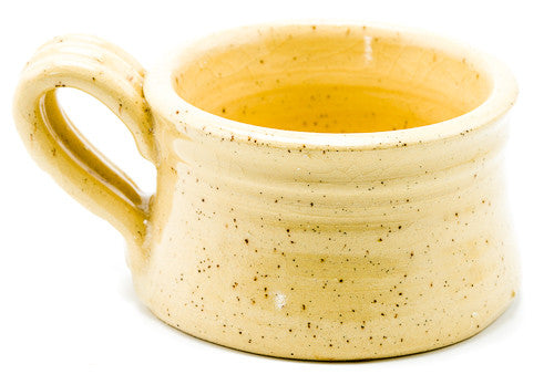 Handcrafted Clay Mug for Shaving Soap - Emz Blendz