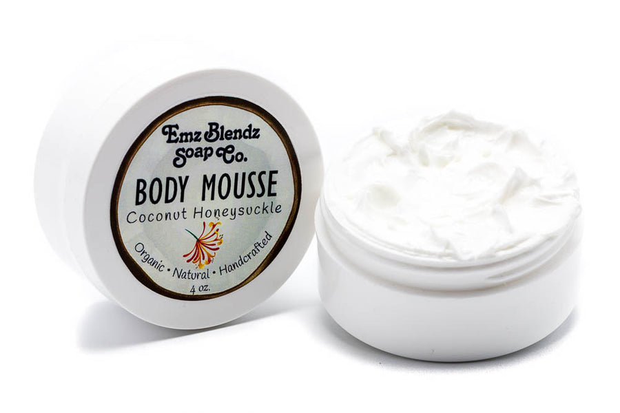 Coconut Honeysuckle Body Mousse