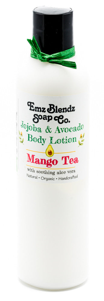 Mango Tea | Jojoba & Avocado Body Lotion - Emz Blendz