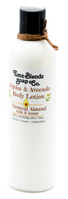 Oatmeal Almond Milk & Honey | Jojoba & Avocado Body Lotion