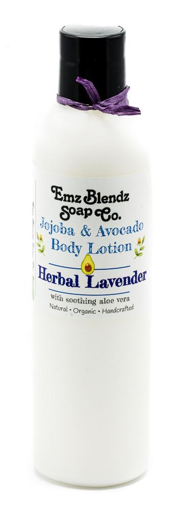 Herbal Lavender | Jojoba & Avocado Body Lotion - Emz Blendz