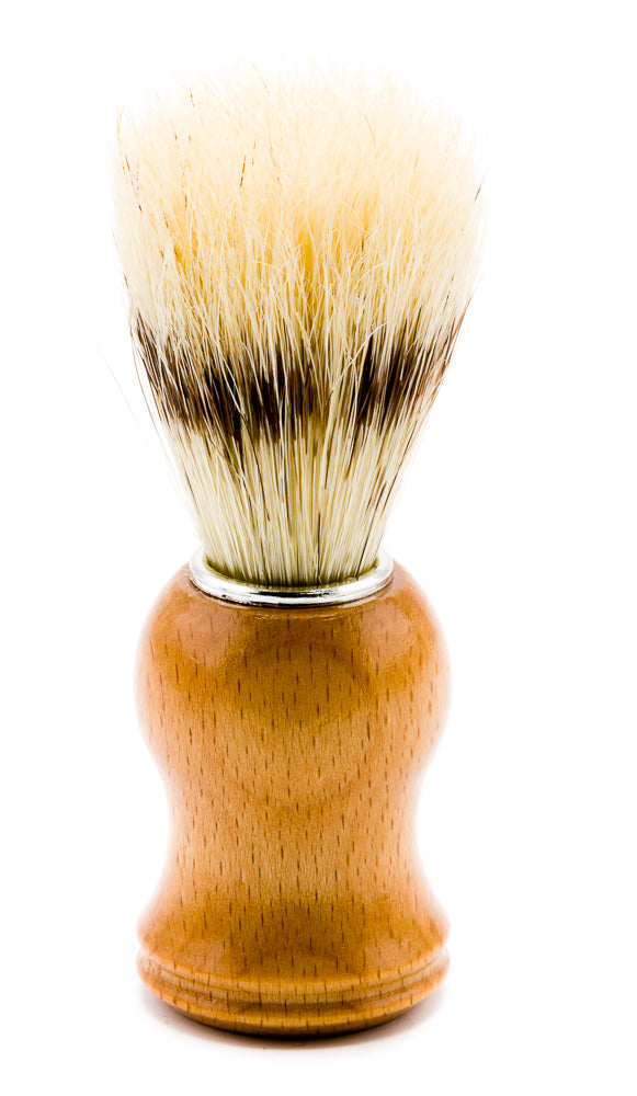 100% Natural Premium Boar Hair Shaving Brush - Emz Blendz