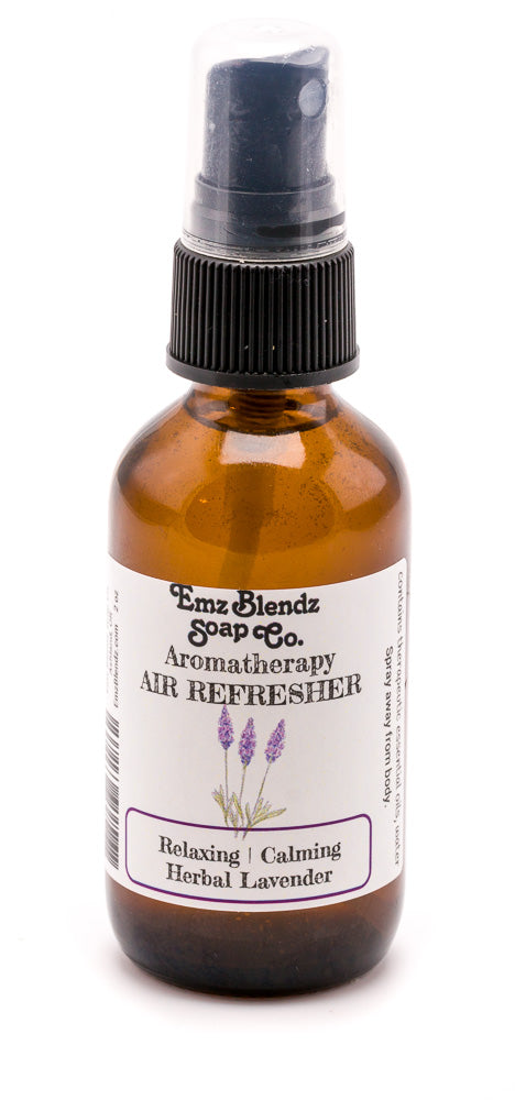 Herbal Lavender | Natural Aromatherapy Air Refresher | Relaxing & Calming - Emz Blendz
