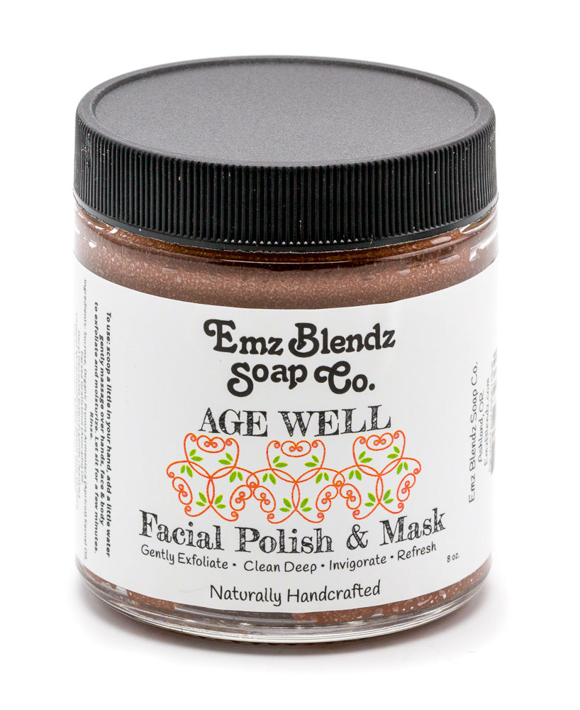 Age Well Facial Polish & Mask - Emz Blendz