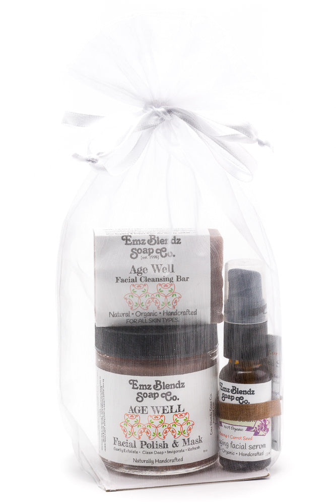 Age Well Healthy Facial Kit - Emz Blendz