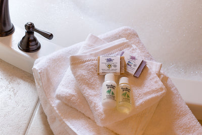 Airbnb Natural Guest Soaps | Guest Amenity Bath Set - Emz Blendz