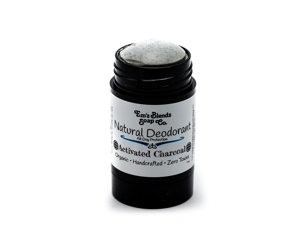 Natural Deodorant | Activated Charcoal - Emz Blendz