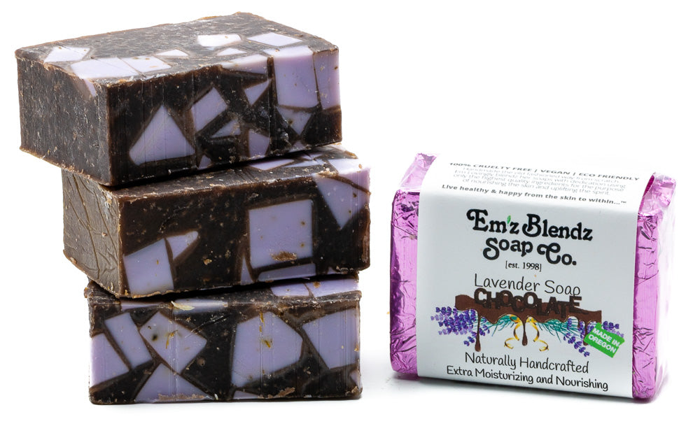 Chocolate Lavender Soap Bar - Emz Blendz