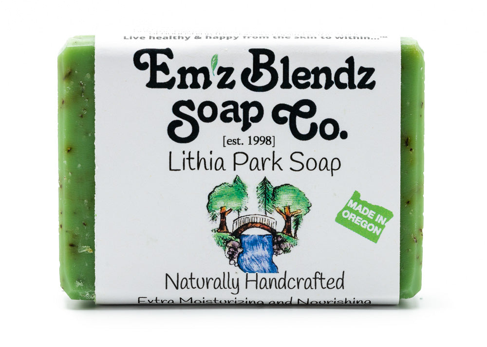 Lithia Park Soap Bar - Emz Blendz