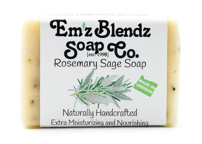Rosemary Sage Soap Bar - Emz Blendz