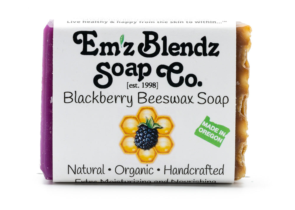 Blackberry Beeswax Soap
