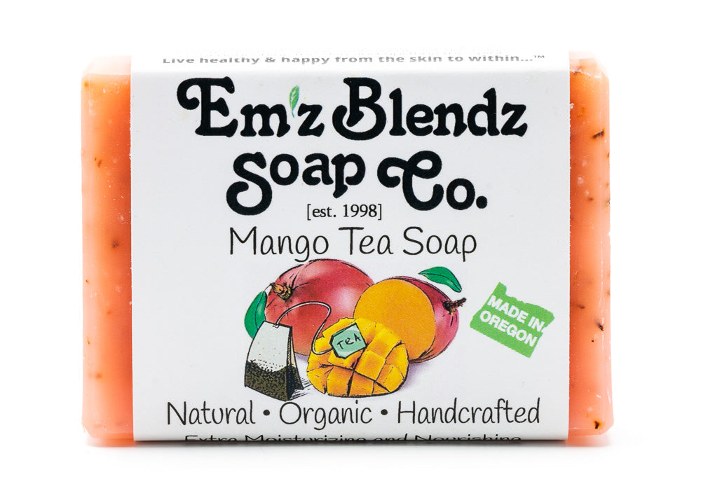 Mango Tea Soap Bar - Emz Blendz