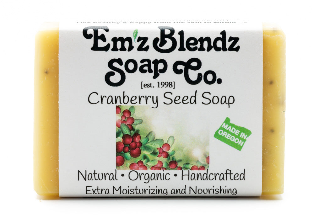 Cranberry Seed Soap Bar - Emz Blendz