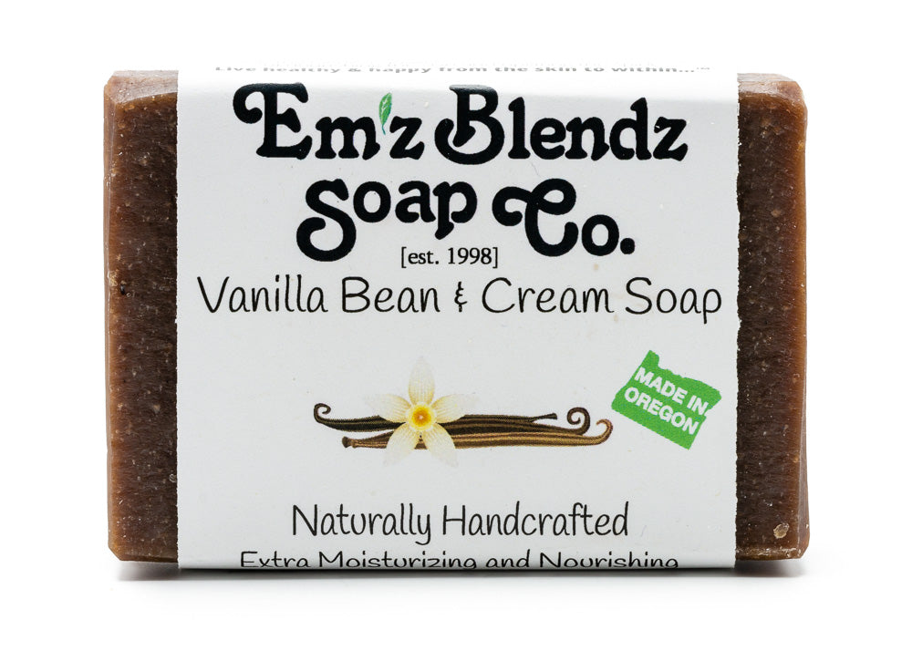 Vanilla Bean & Cream Soap Bar