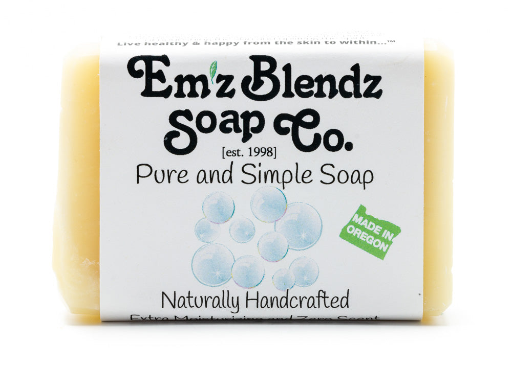 Pure & Simple Soap Bar - Emz Blendz