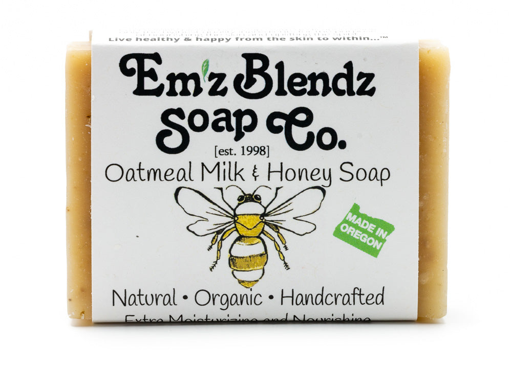 Oatmeal Milk and Honey Soap Bar