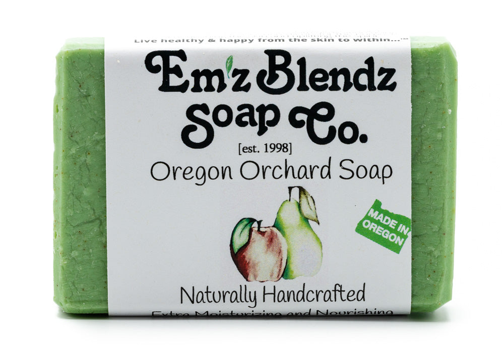 Oregon Orchard Soap Bar - Emz Blendz