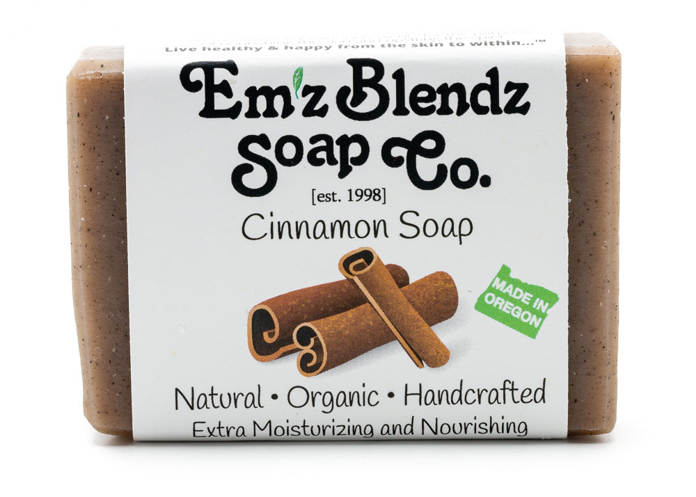 Cinnamon Soap Bar - Emz Blendz