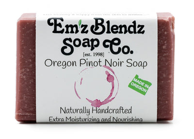Oregon Pinot Noir Wine Soap Bar