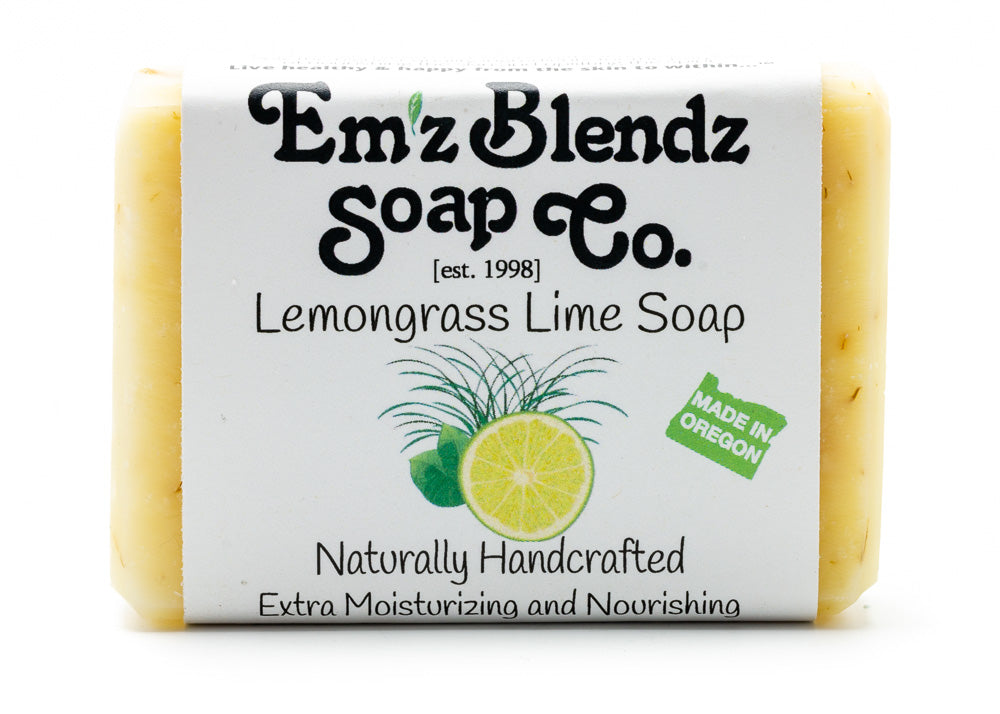 Lemongrass Lime Soap Bar - Emz Blendz