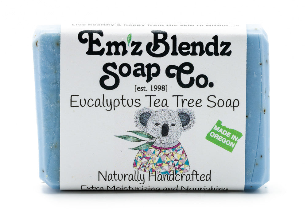 Eucalyptus Tea Tree Soap Bar - Emz Blendz