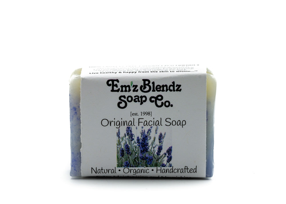 Original Organic | Balancing Facial Soap - Emz Blendz