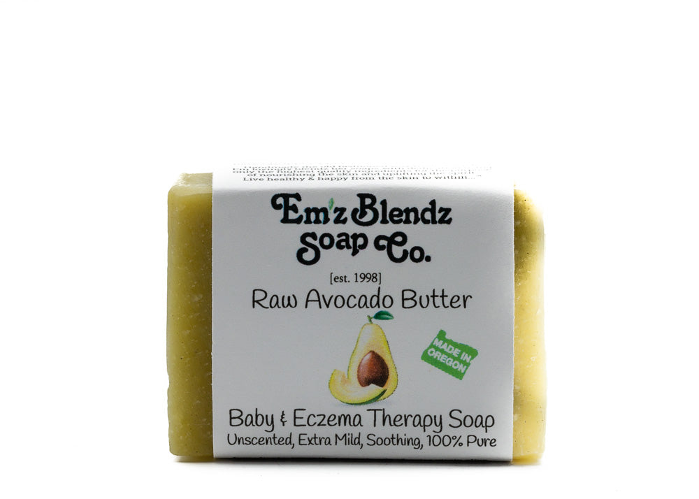 Raw Avocado Butter | Baby & Eczema Therapy Soap