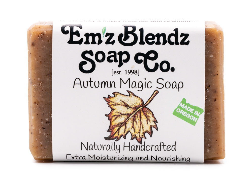 Autumn Magic Soap Bar - Emz Blendz