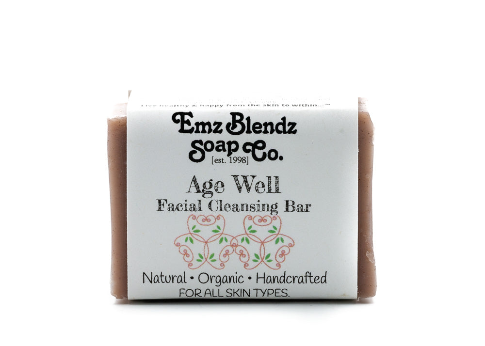 Age Well Facial Cleansing Bar - Emz Blendz