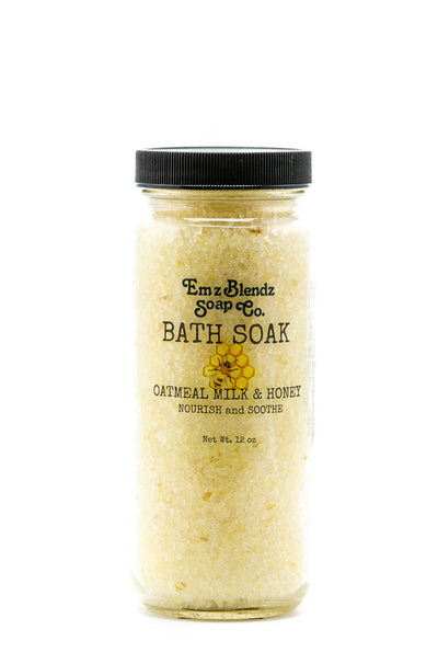 Oatmeal Milk and Honey | Moisturizing Bath Soak | Bath Salts