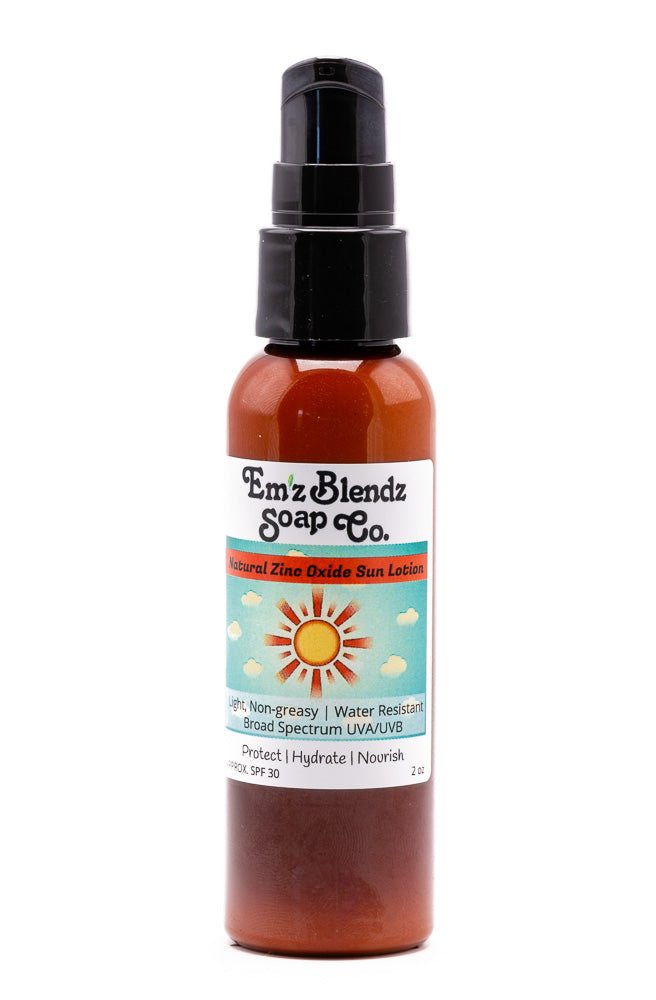 Natural Mineral Sun Lotion for Face and Body
