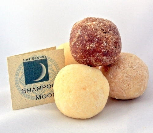 Rosewood Vanilla | Shampoo Moon&#8482 - Conditioning Solid Shampoo - Emz Blendz