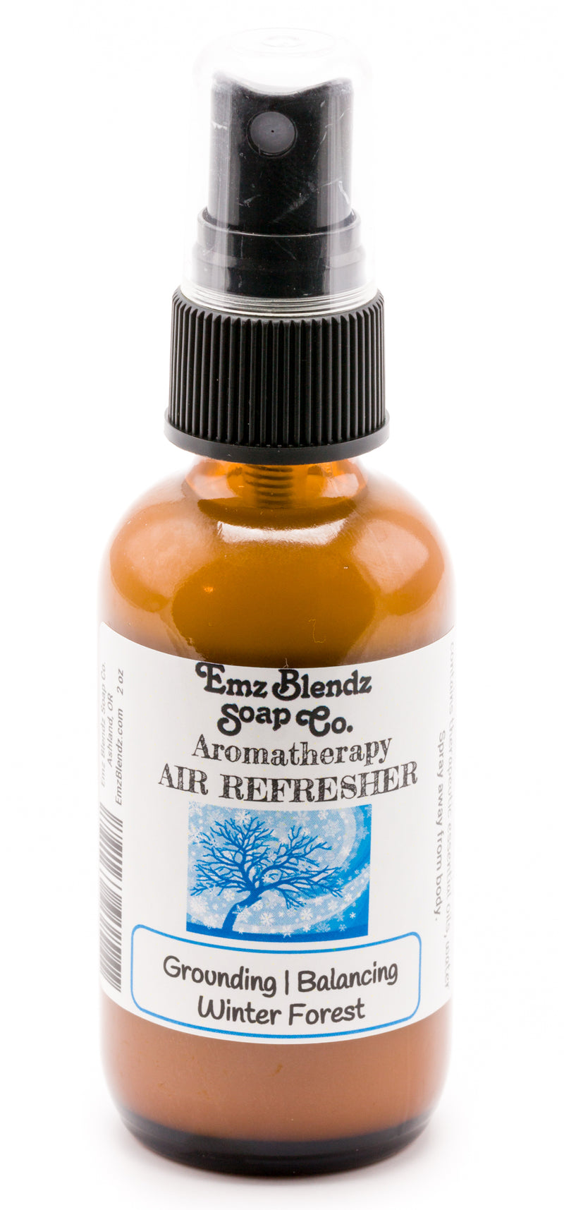 Winter Forest | Natural Aromatherapy Air Refresher | Grounding & Balancing - Emz Blendz