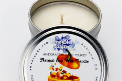 Autumn Magic | Soy Wax Travel Candle in Tin - Emz Blendz