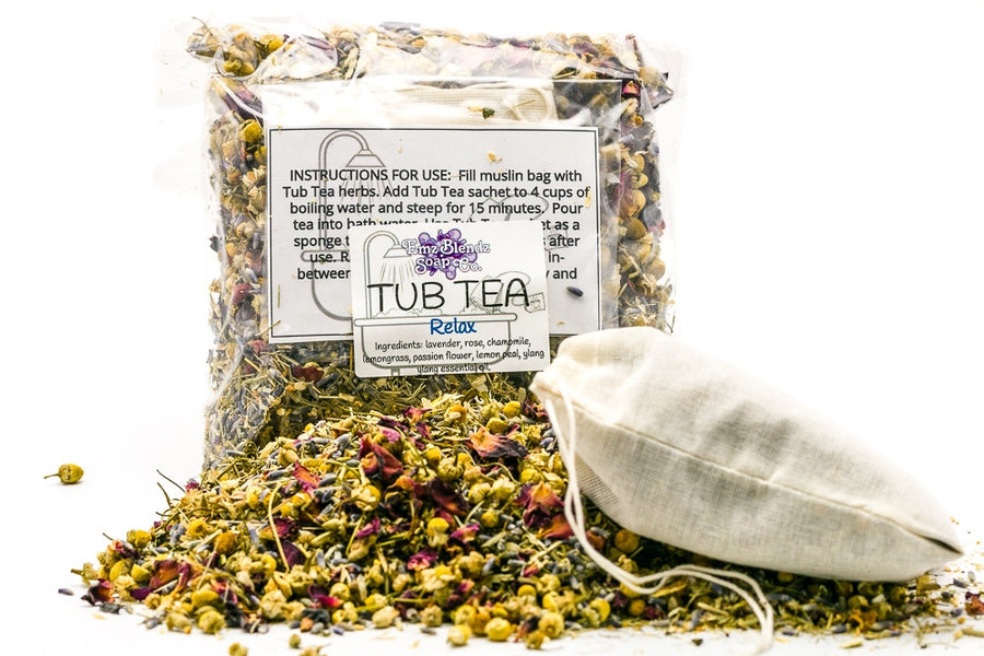 Relax | Herbal Tub Tea - Emz Blendz
