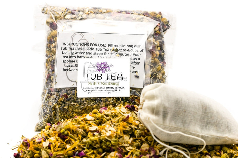 Soft and Soothing  | Herbal Tub Tea - Emz Blendz