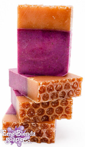Blackberry Beeswax Soap - Emz Blendz
