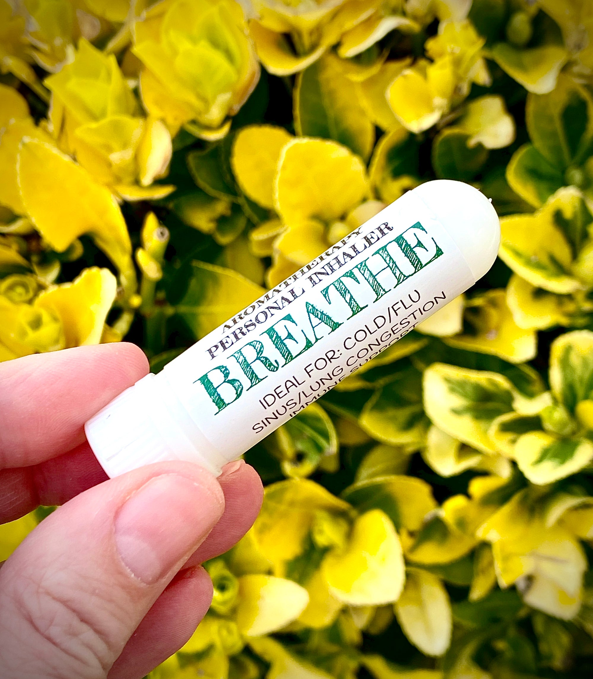 Breathe | Personal Inhaler | Eucalyptus, Camphor & Tea Tree - Emz Blendz