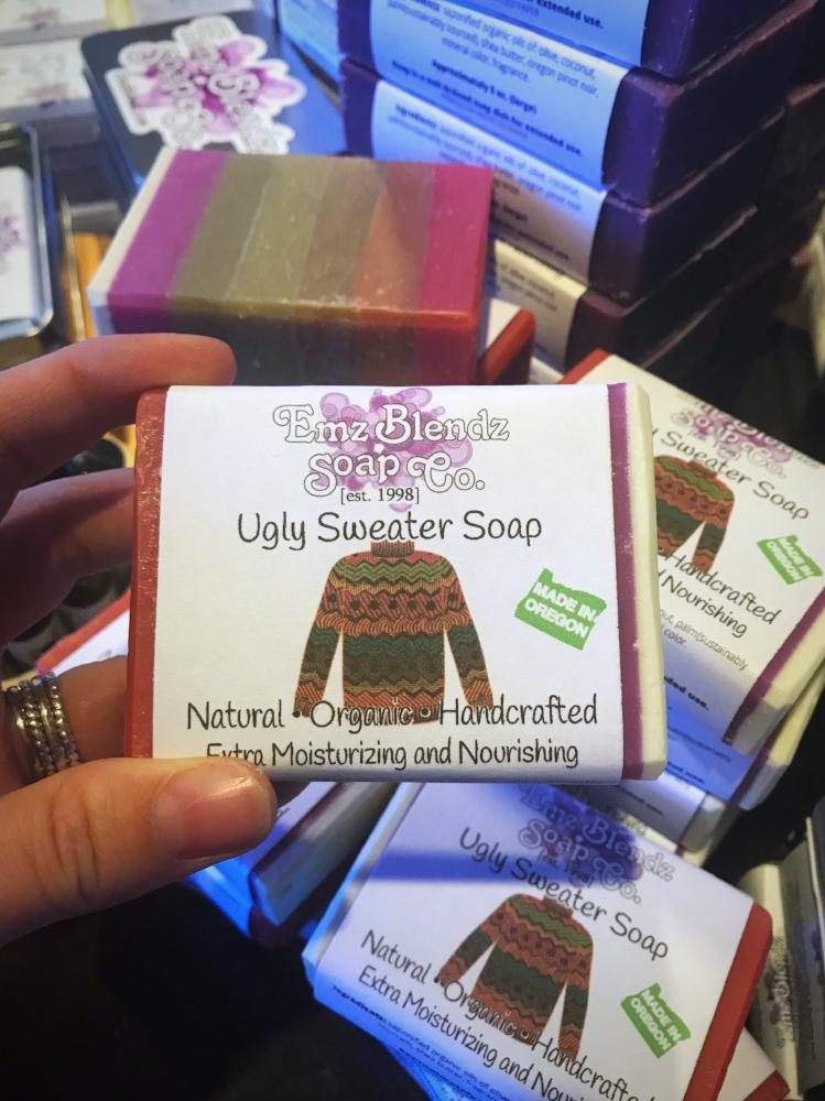 Ugly Sweater Soap Bar