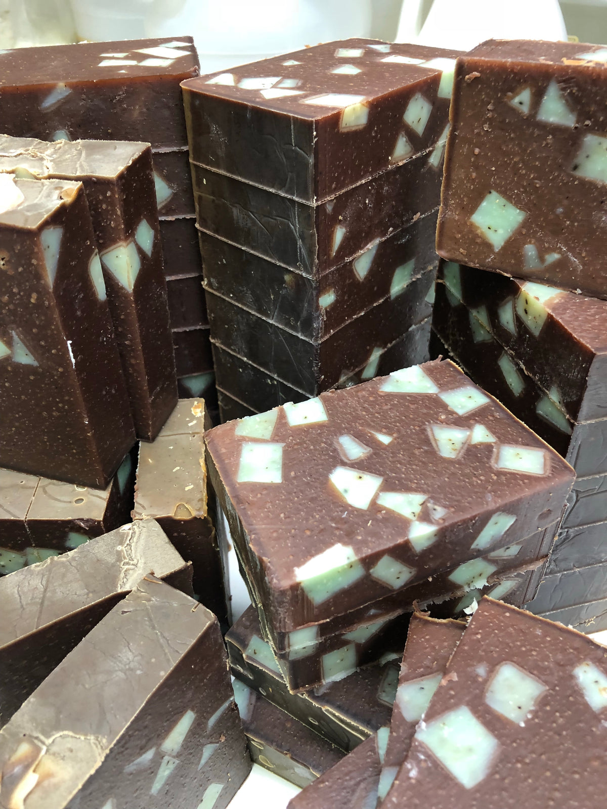 Chocolate Milk & Mint Soap Bar - Emz Blendz