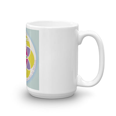 Emz Bubble - White Glossy Mug - Emz Blendz